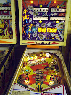 Flipper Mécanique Royal flush de Gottlieb