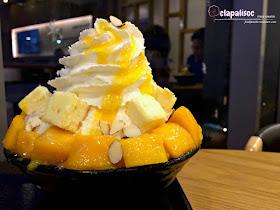 Mango and Cheese Bingsu from Hobing Korean Dessert Cafe