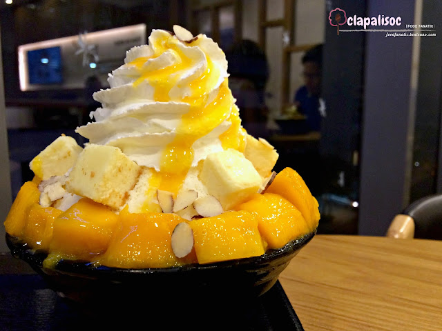 Mango and Cheese Bingsu from Hobing Korean Dessert Cafe