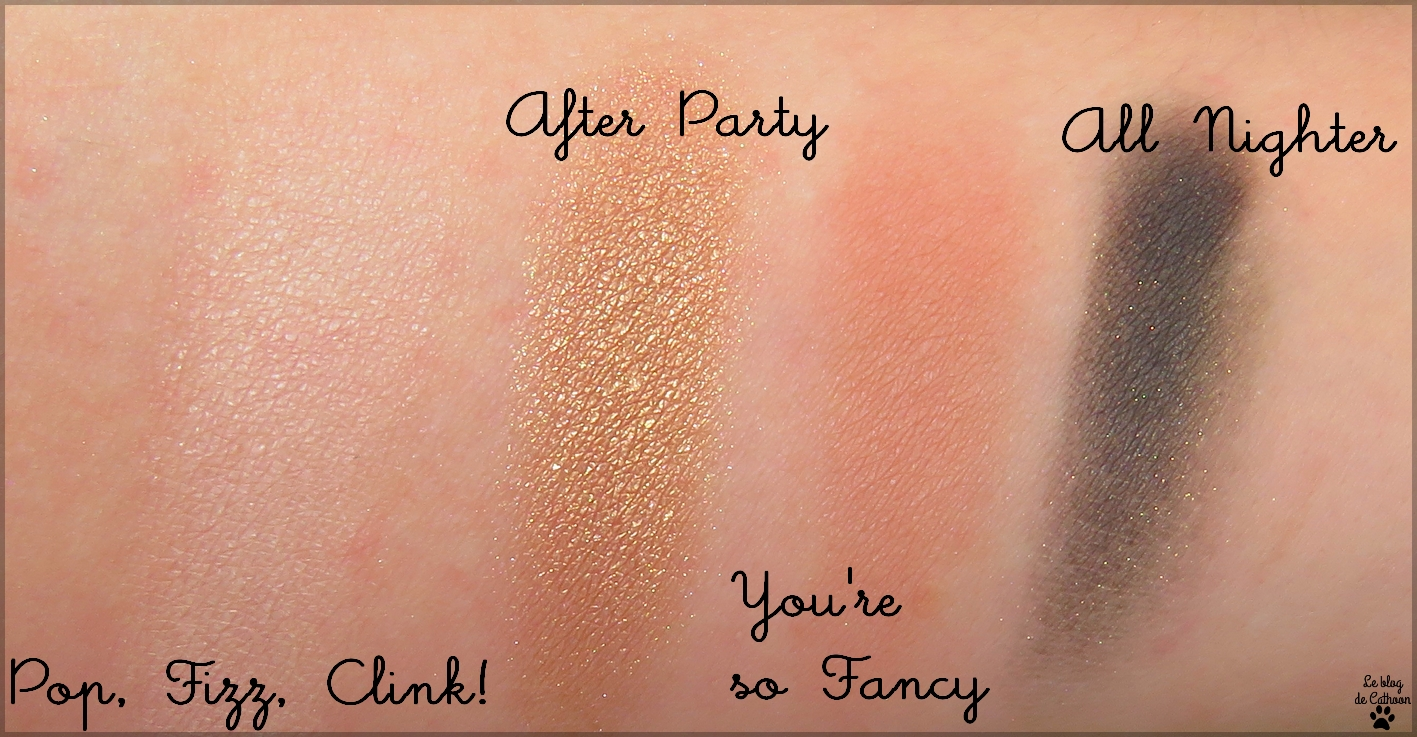 swatches Funfetti Too Face
