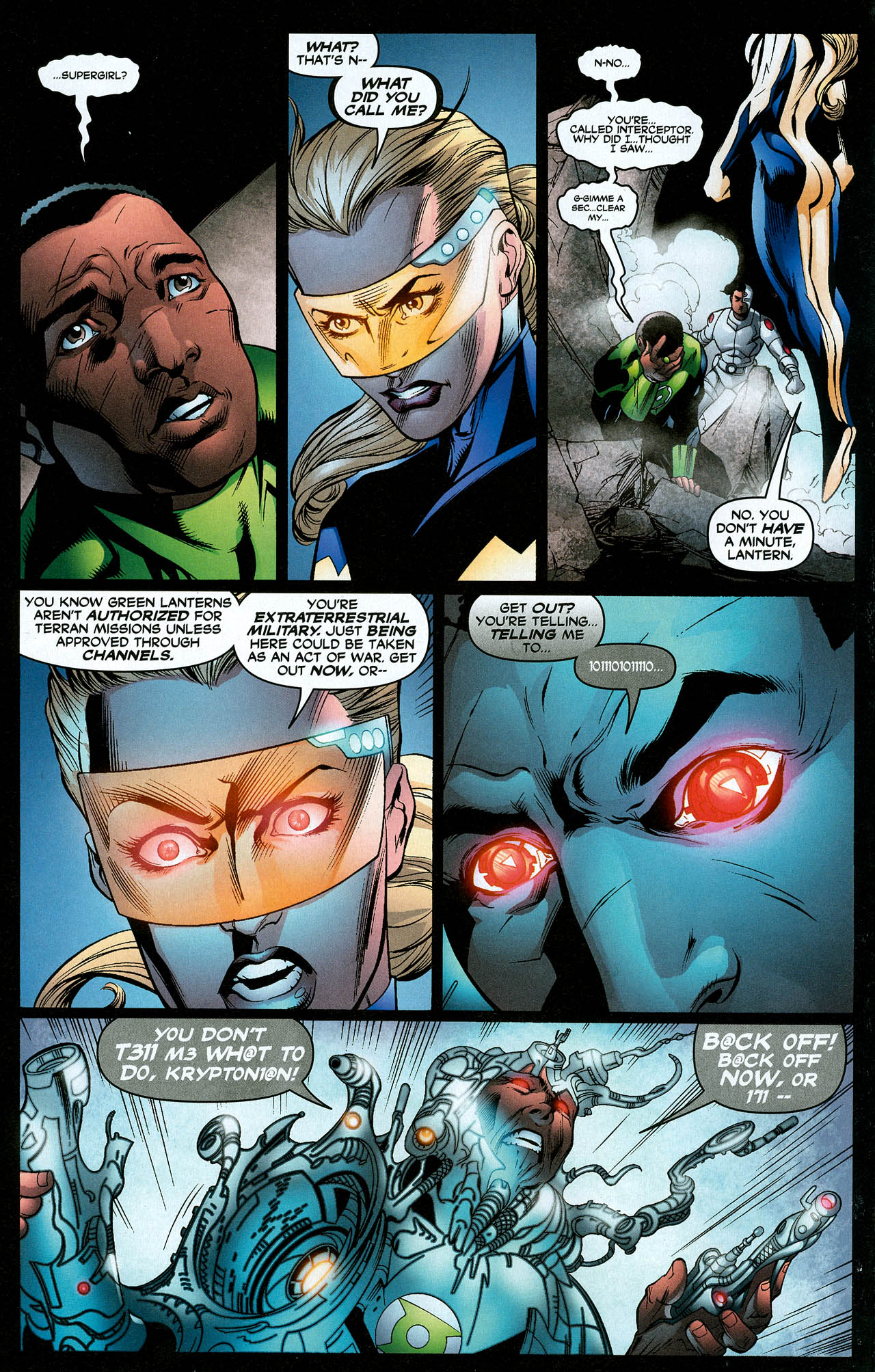 Read online Trinity (2008) comic -  Issue #18 - 11