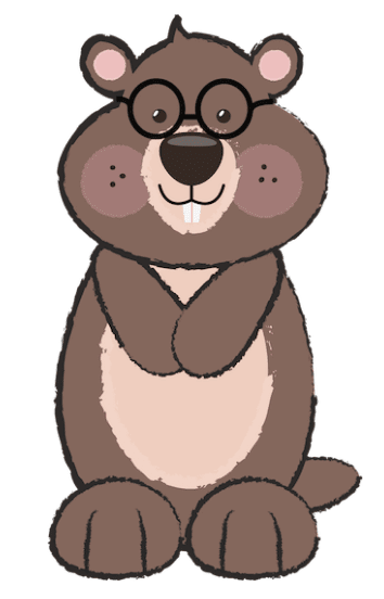 Free Groundhog Clipart by GO Designs. GradeONEderfulDesigns.com