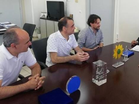 Συντονιστής της Πολιτικής Γραμματείας των Οικολόγων Πράσινων ο Τολιανός Μανώλης Βέμης
