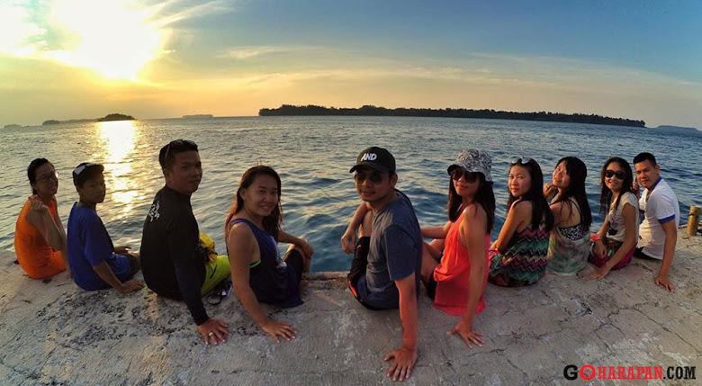 pilihan paket wisata pulau harapan