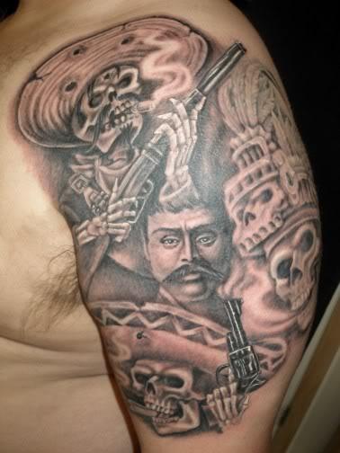 Mexican Tattoo: Tattoo Donkey: Mexican Tattoos(1