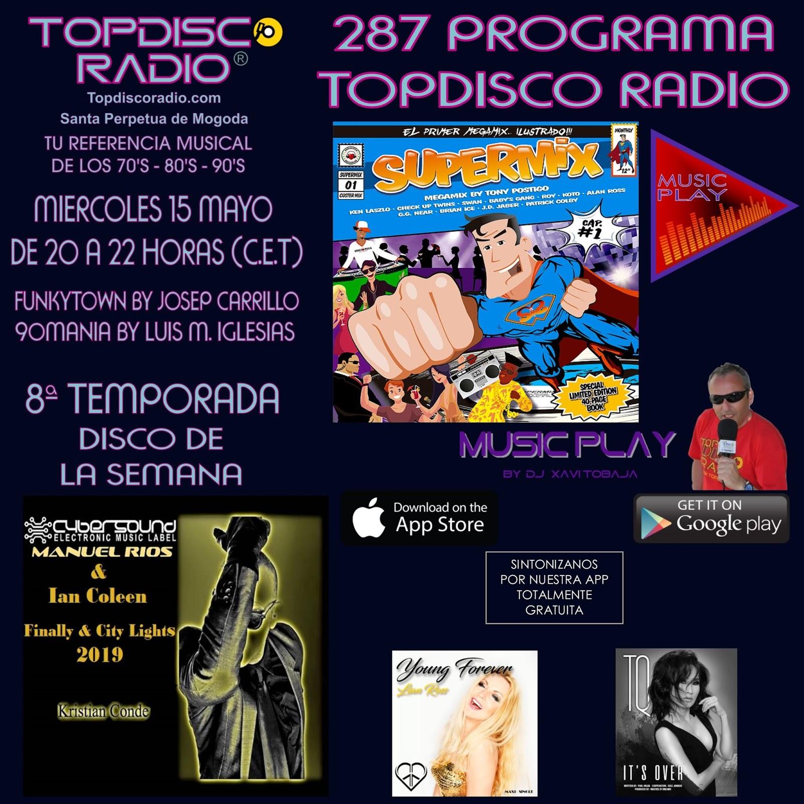 287 Programa Topdisco Radio