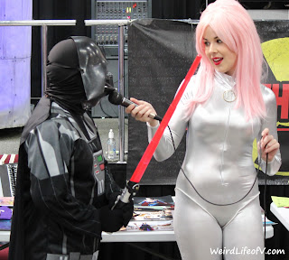 Darth Vader cosplay  - Nuke The Fridge Con 2015