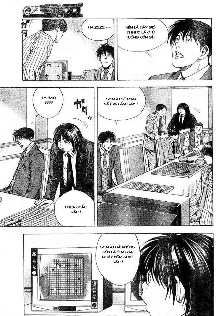 Hikaru No Go hikaru no go chap 184 trang 11