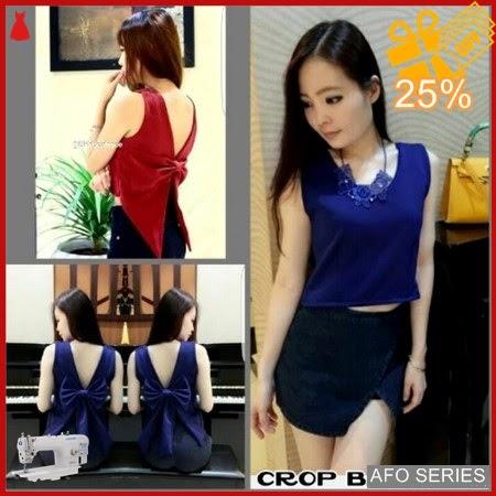 AFO248 Model Fashion Crop Backpita Modis Murah BMGShop