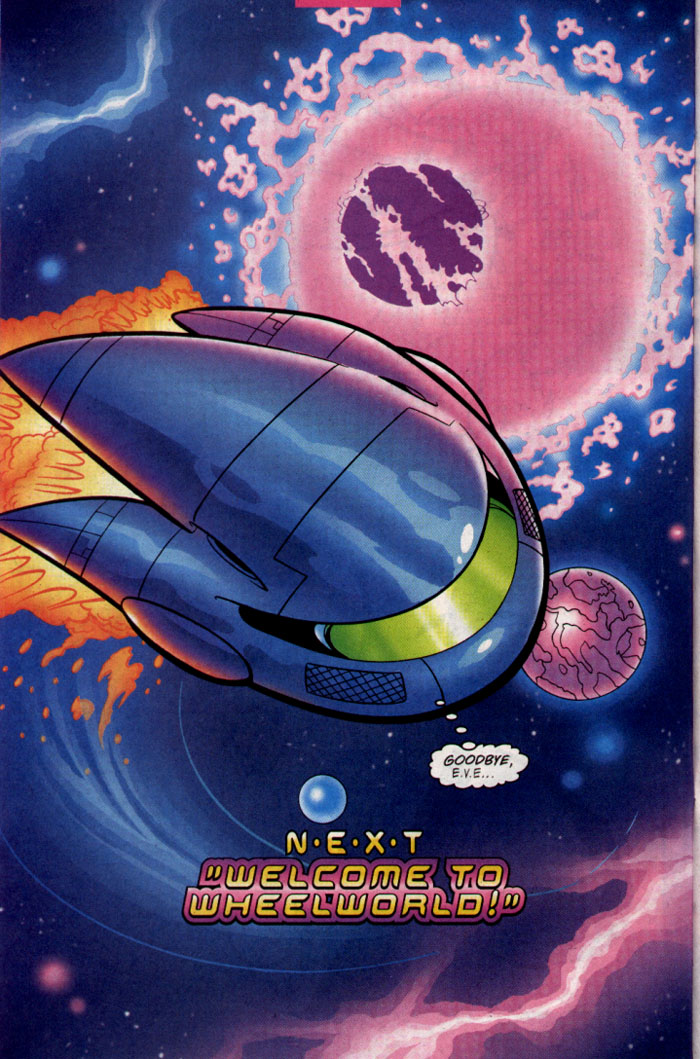 Read online Sonic The Hedgehog comic -  Issue #128 - 23