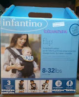 Infantino Flip  3 Positions Baby Carrier