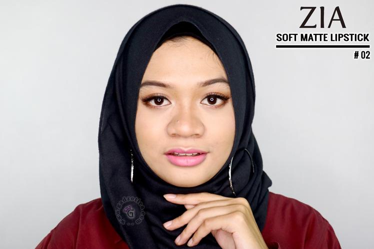 Zia Soft Matte Lipstick 02