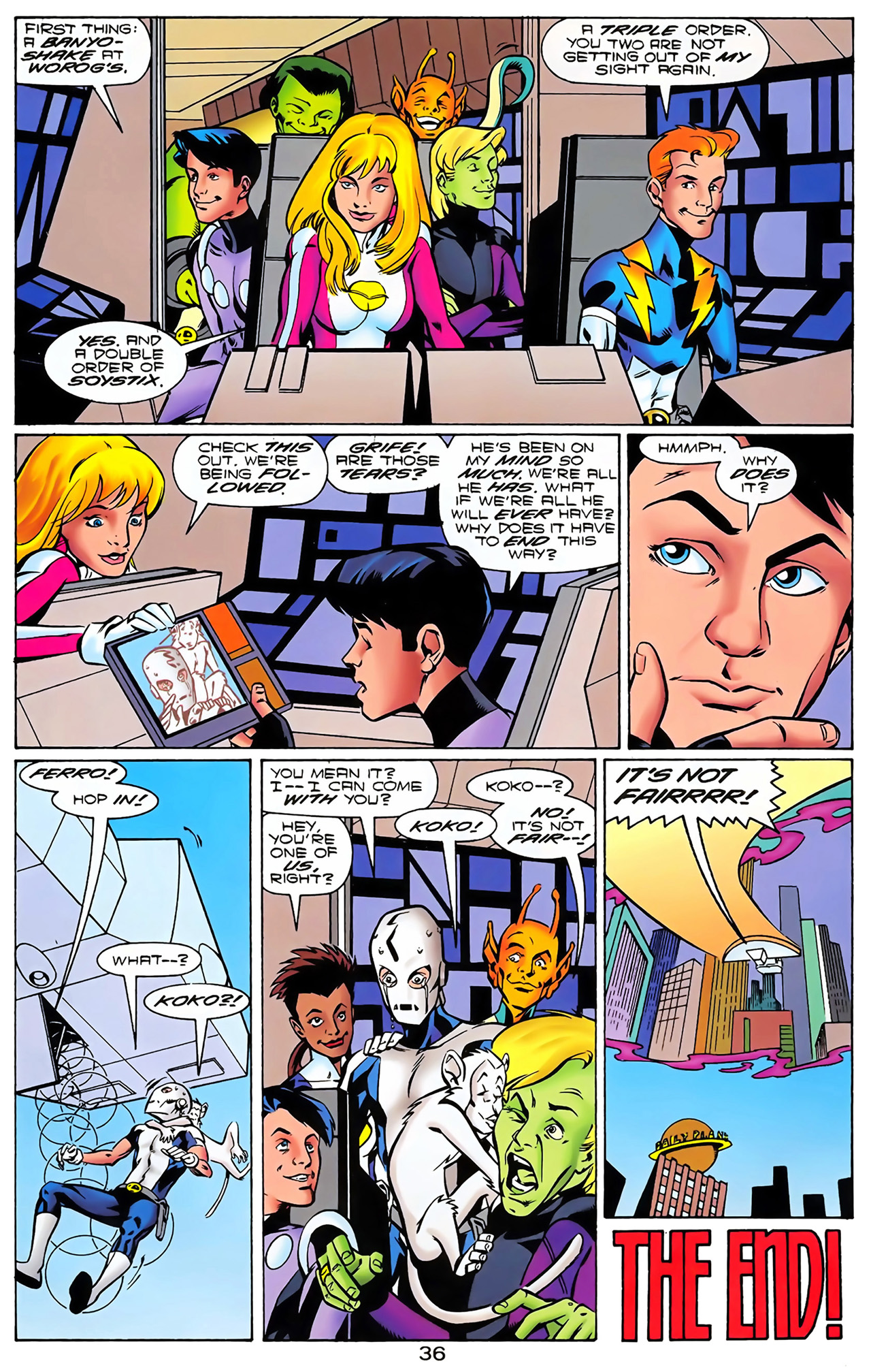 Legion of Super-Heroes (1989) 100 Page 32