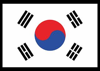 Korea Flag Logo Vector