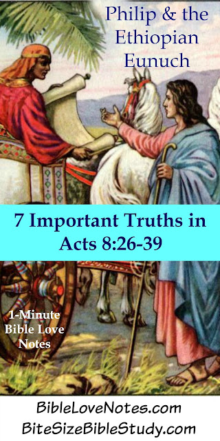 7 Things We Learn From the Ethiopian Eunuch - Acts 8:26-39