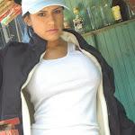 Andrea Rincon, Selena Spice Galeria 33: Gorra Azul, Cachetero Azul Foto 13