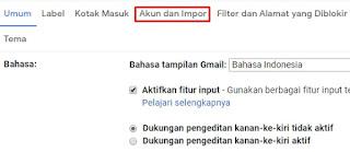 cara mengganti sandi email