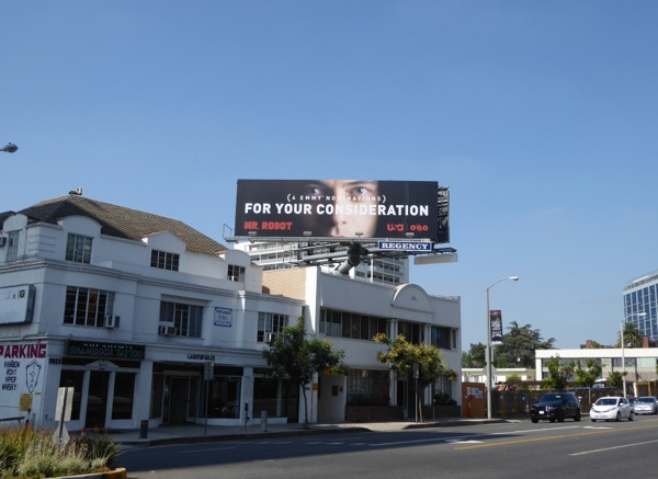 Mr Robot 2016 Emmy billboard