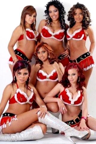 Foto de Vanesa y Las Tremendas para Navidad