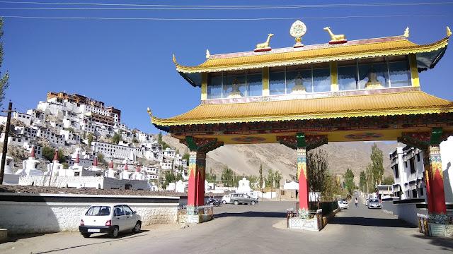 Leh Ladakh Bike Trip, Thiksay Monestry