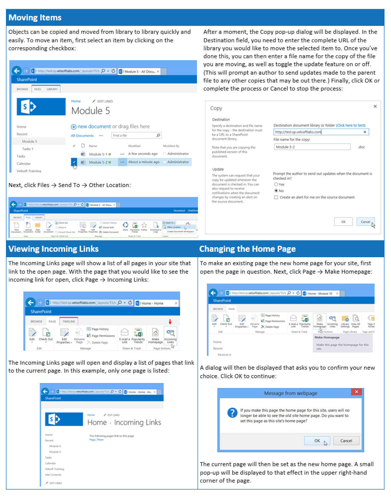 sharepoint 2013 quick reference guide pdf