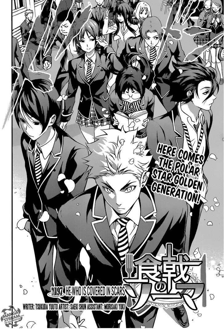 Shokugeki no Soma - Chapter 265