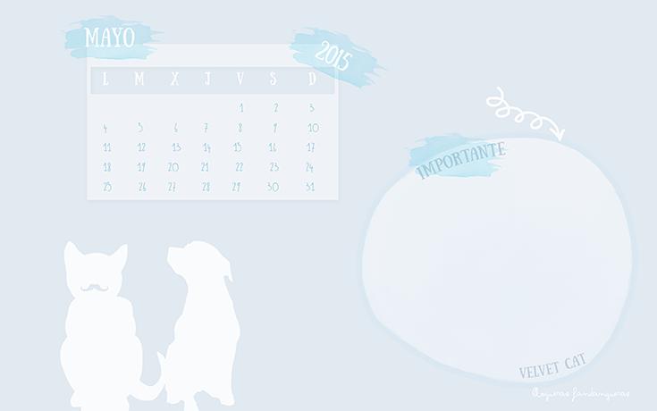 calendario wallapaper mayo 2015