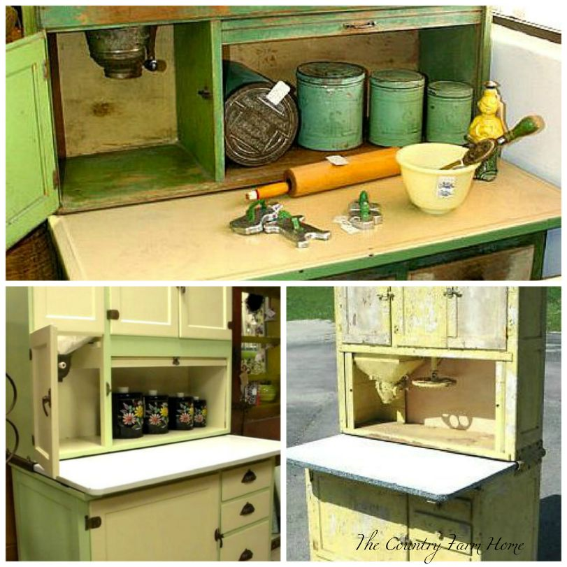 Hoosier Kitchen Cabinet: The Country Farm Home: I'll Take A Hoosier Cabinet, Please