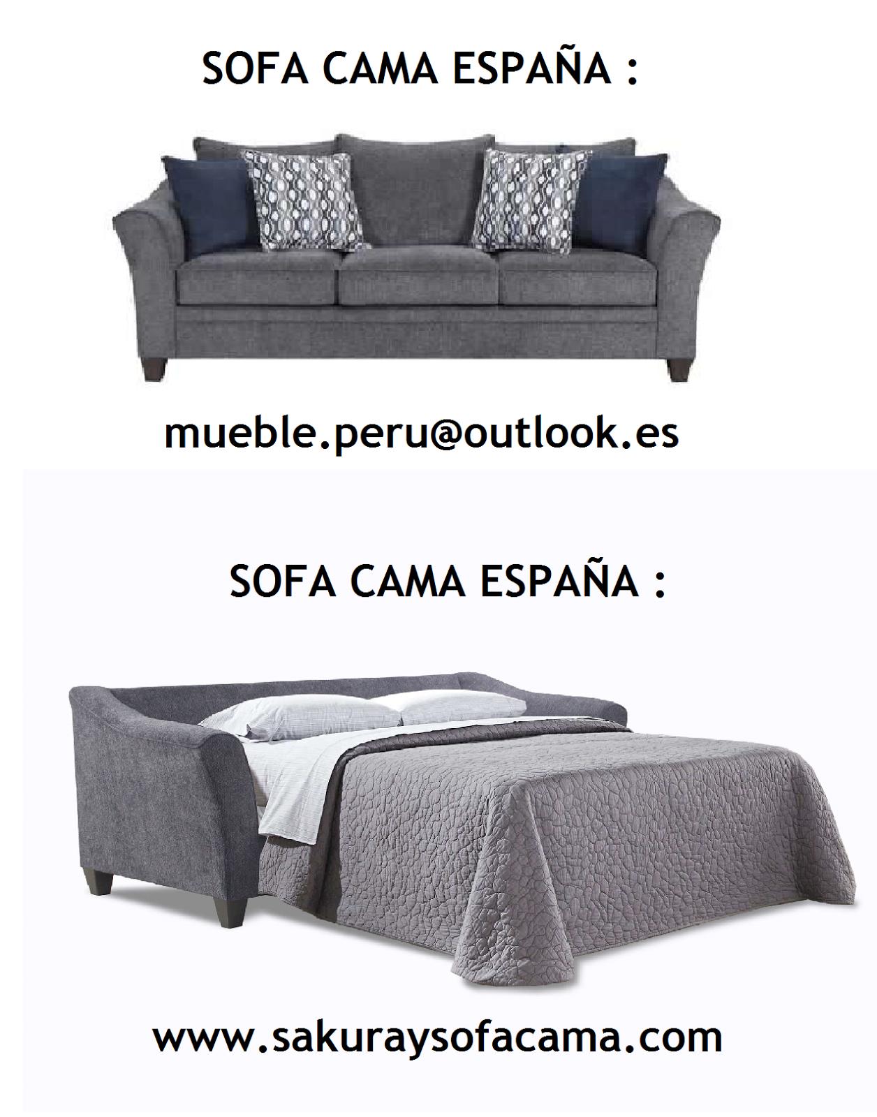 Mueble peru sakuray sofa cama espa a - Mueble sofa cama ...