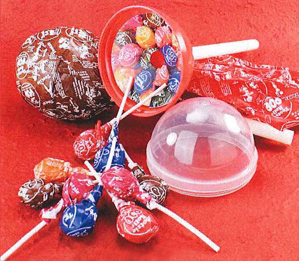 The Sweetest Temptations: Giant Tootsie Pop  Red Tootsie Pop