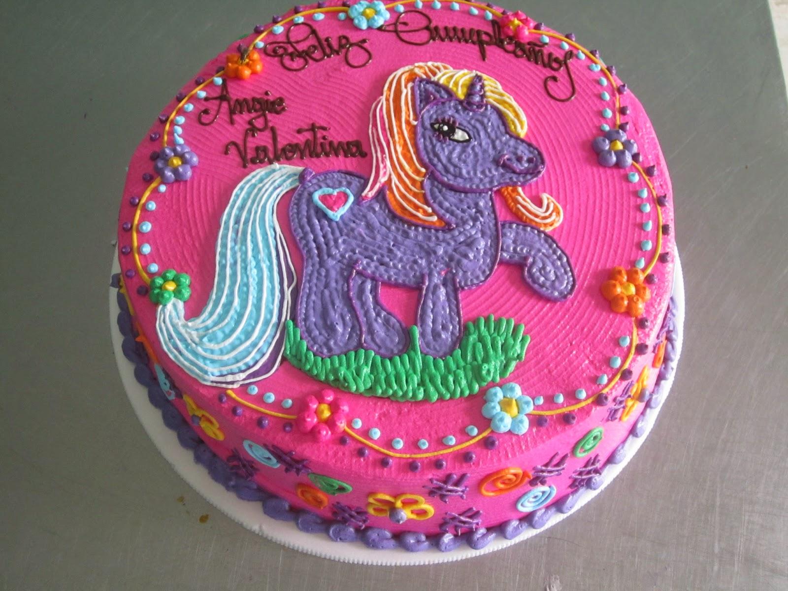 Panaderia Pasteleria Toro Tortas Infantiles Con Decoraciones En Crema - Decoracion-de-tortas-infantiles