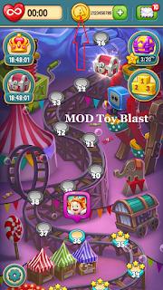 Free Download Toy Blast MOD APK