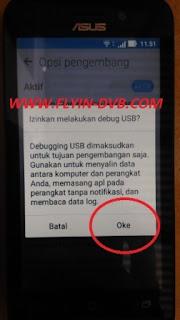 bypass email verifikasi ASUS_X009DA (ZB450KL) Tahap 13