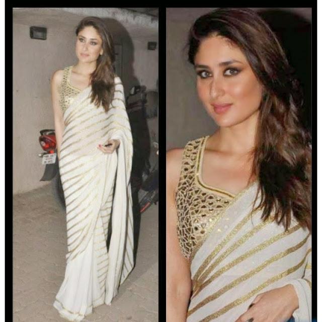 Bollywood Actress Saree Collections: Kareena Kapoor In