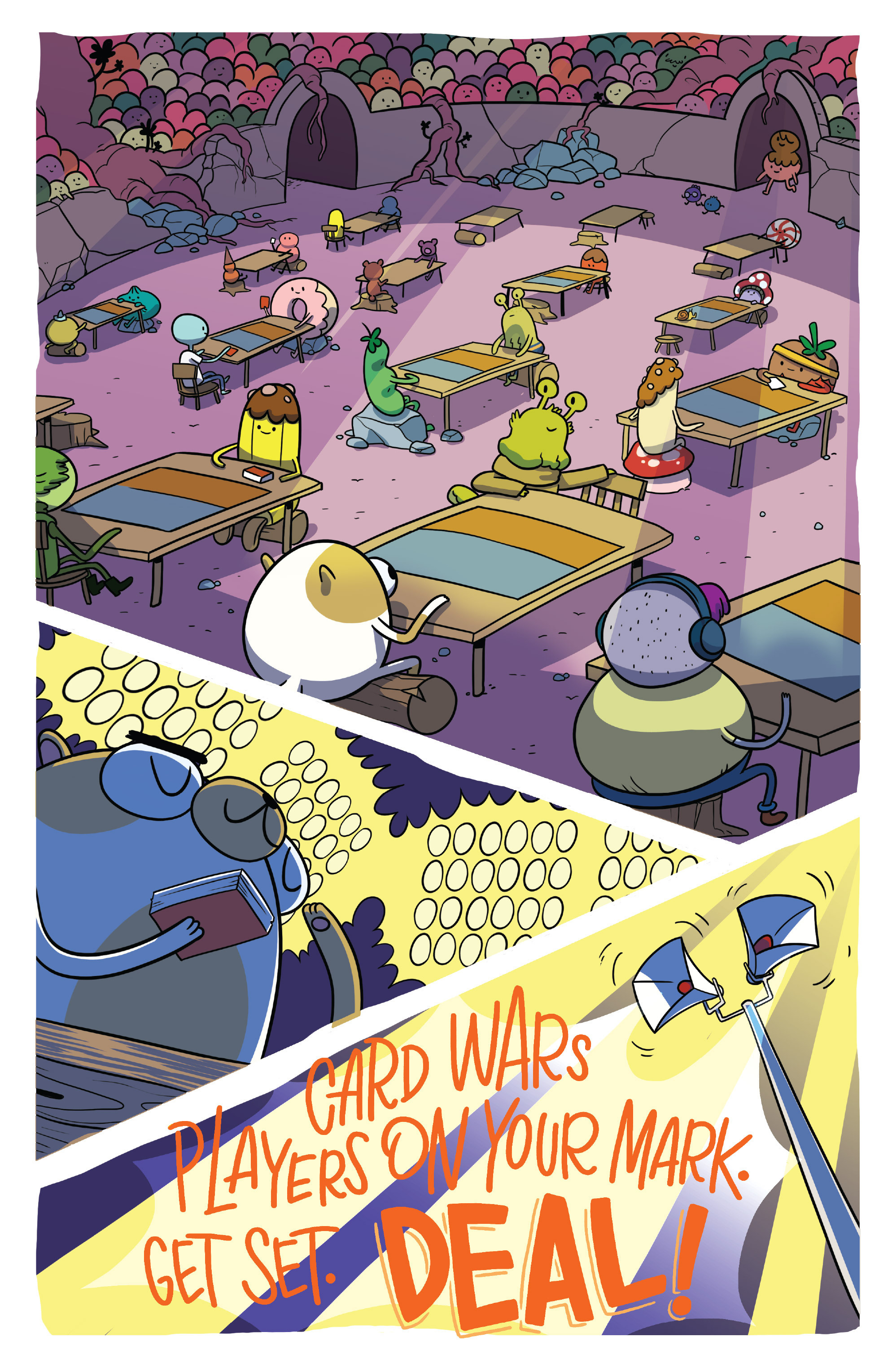Read online Adventure Time Fionna and Cake Card Wars comic -  Issue #4 - 16