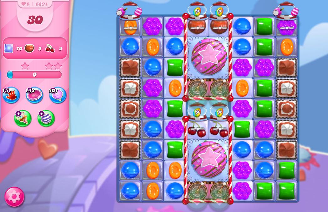 Candy Crush Saga level 5891