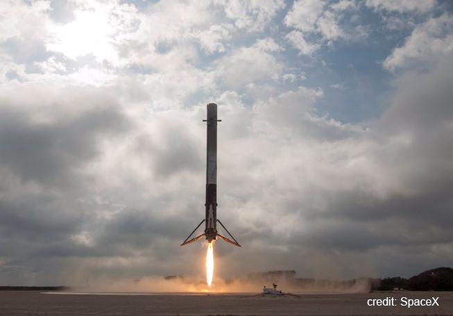spacex reusable rocket splash down - photo #19
