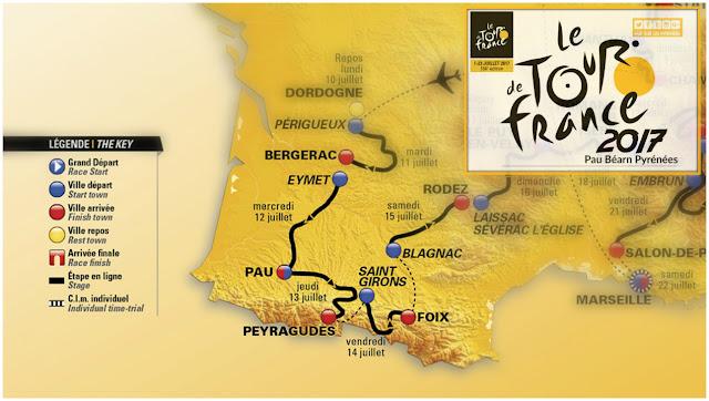 Tour de France Pyrénées 2017