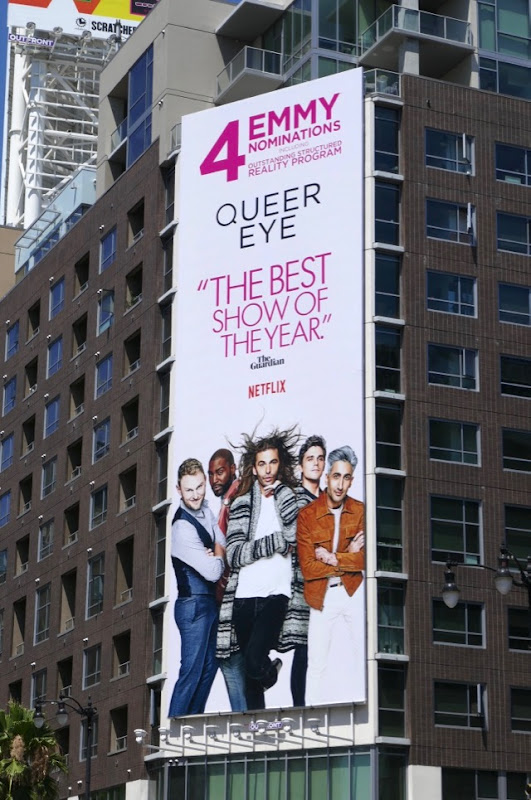 Queer Eye season 1 Emmy nominee billboard