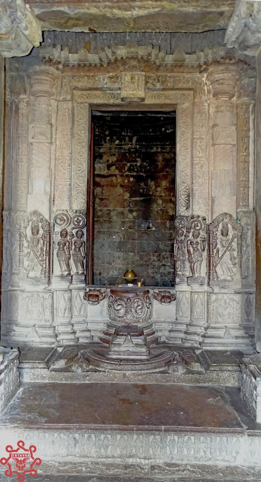 Sanctum-sanctorum Shiv temple Menal