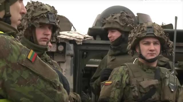 OTAN despliega más de 5300 soldados en Lituania