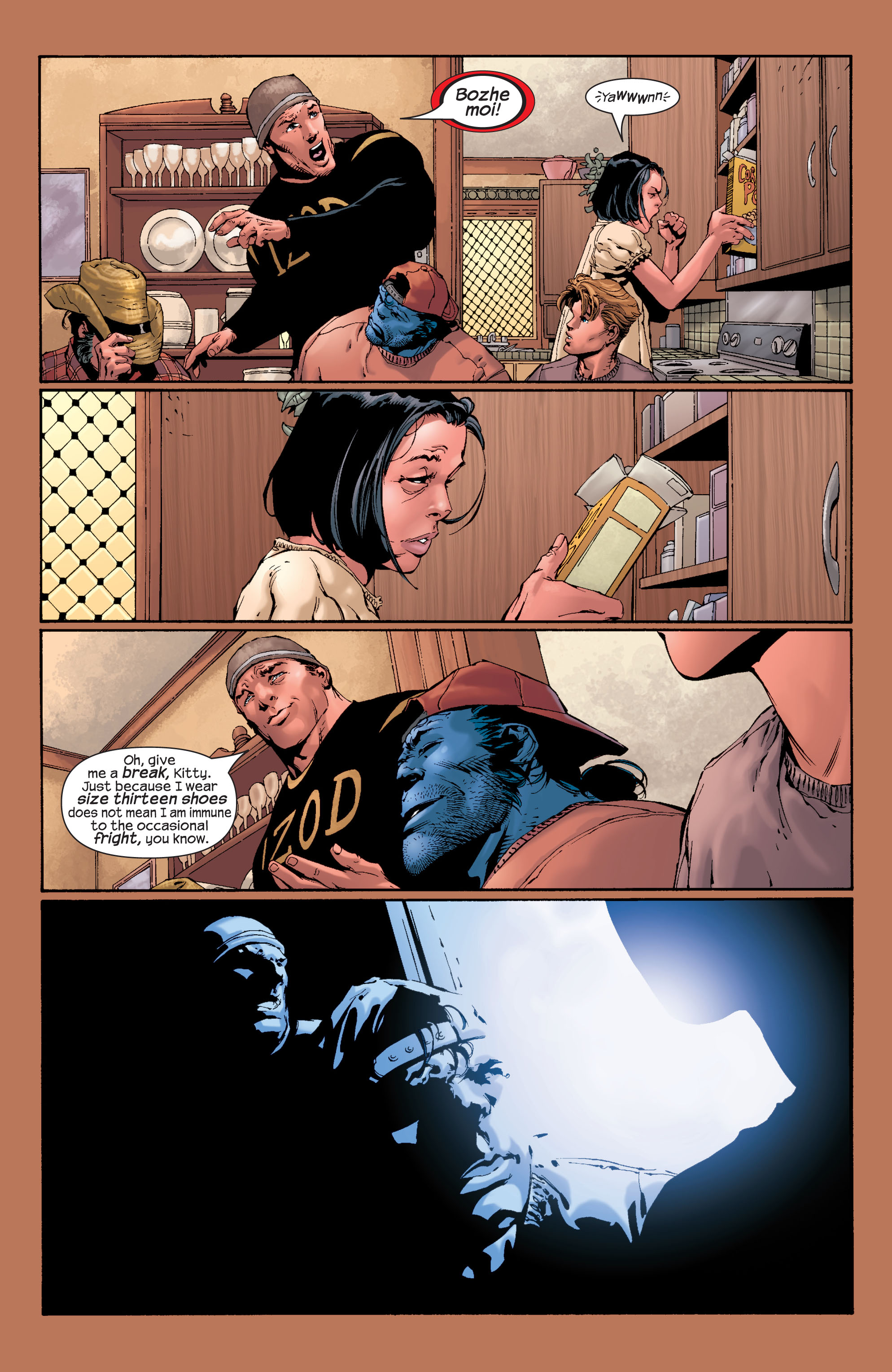 Read online Ultimate X-Men comic -  Issue #28 - 18
