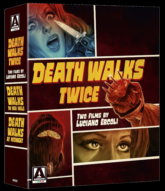 Death Walks Twice Box Set Blu-ray cover Arrow Video