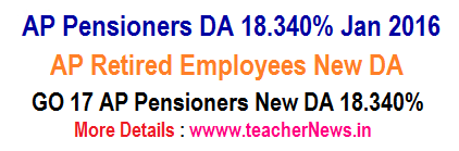 AP Pensioners Jan DA 18.340 %