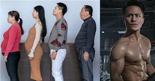 Οικογένεια Κινέζων γυμνάστηκε για 6 μήνες και μεταμόρφωσαν τα σώματα τους