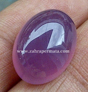 Batu Permata Lavender Chalcedony
