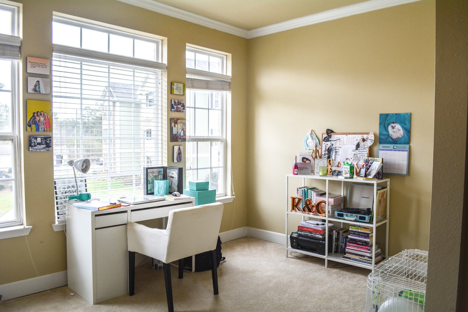 Apartment Tour: Sunroom/Office
