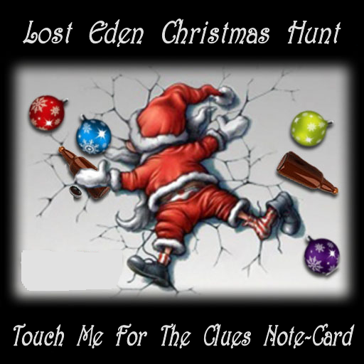 Lost Eden CHristmas Hunt Is Open