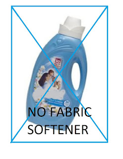 No Fabric Softener