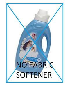 No Fabric Softener